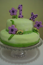 Lila y verde limón