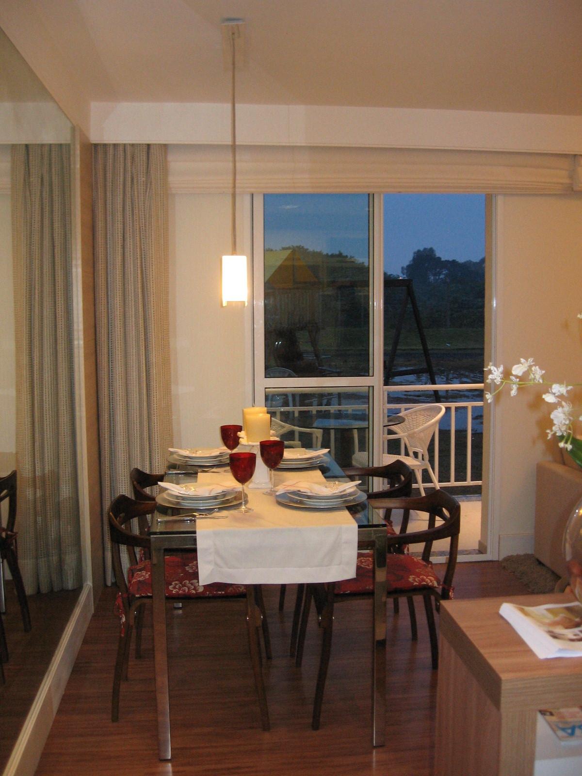 Living dois ambientes #8D663E 1200x1600 Banheiro Apartamento Decorado