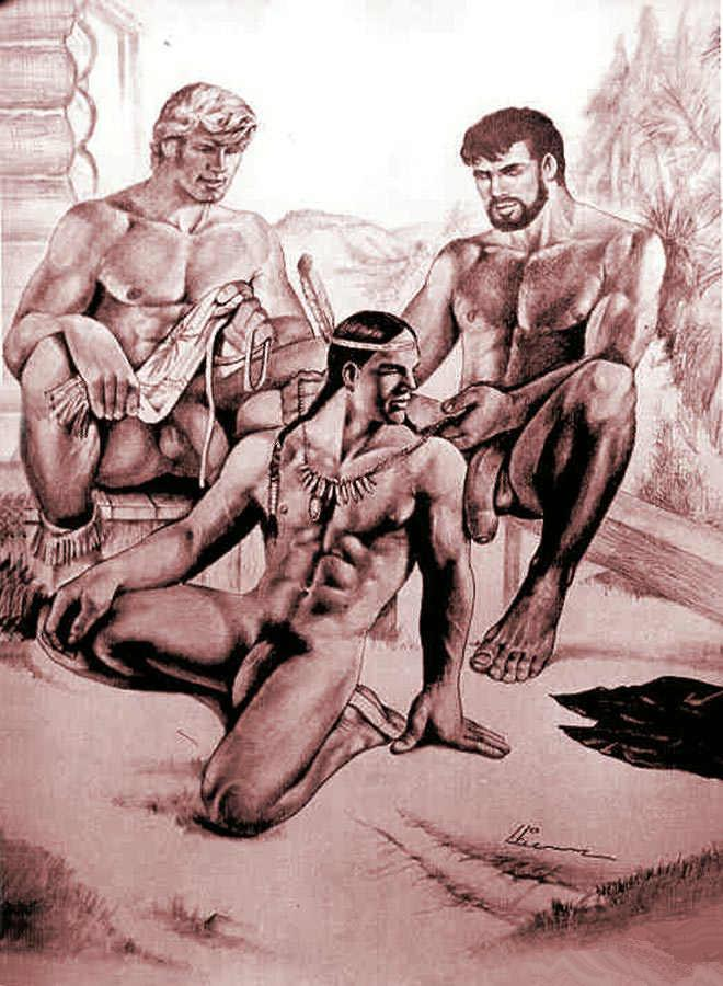 native american boys nude