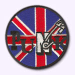 ecusson Punk Union Jack Customize.fr