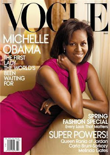 Michelle Obama on the cover of March Vogue