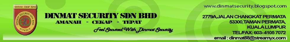 DINMAT SECURITY SDN BHD