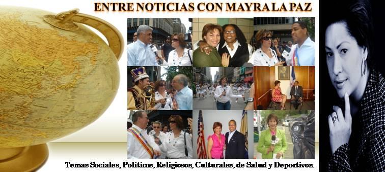 Noticias con Mayra La Paz