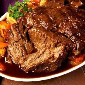 Not Yo Mamma's Cooking: Garlic Top Sirloin Pot Roast