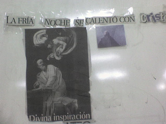 La fria noche se calento con Cristo
