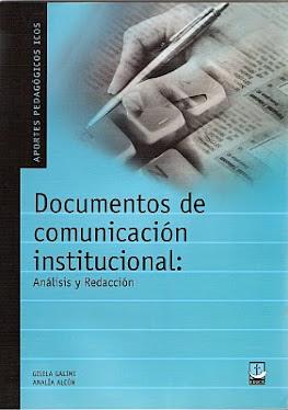 Redacción de Documentos de Comunicación Institucional