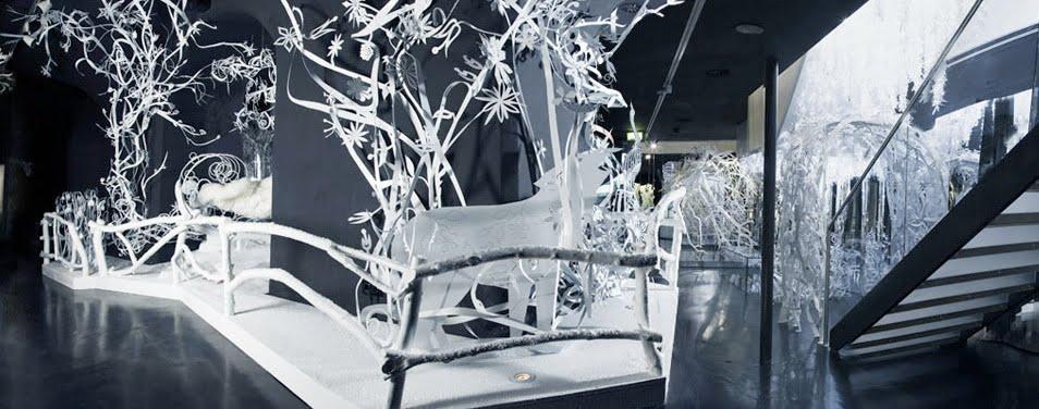 Tord Boontje Winter Wonderland Installation View Swarovski Crystal Gallery Innsbruck 2006 2009 Courtesy Of Studio