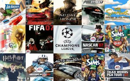 java Games from EA-games