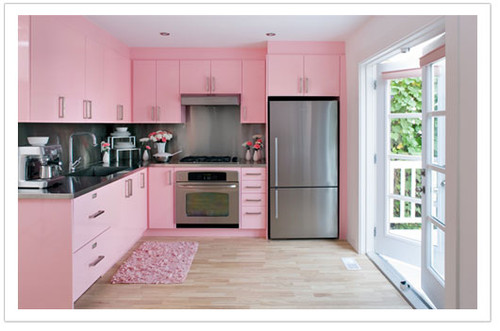 Pink,amazing,interior,design,kitchen,design,inspiration