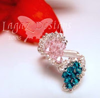 Split Heart Ring - Front