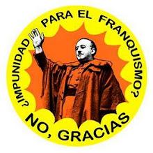 impunidad para el franquismo? no gracias!