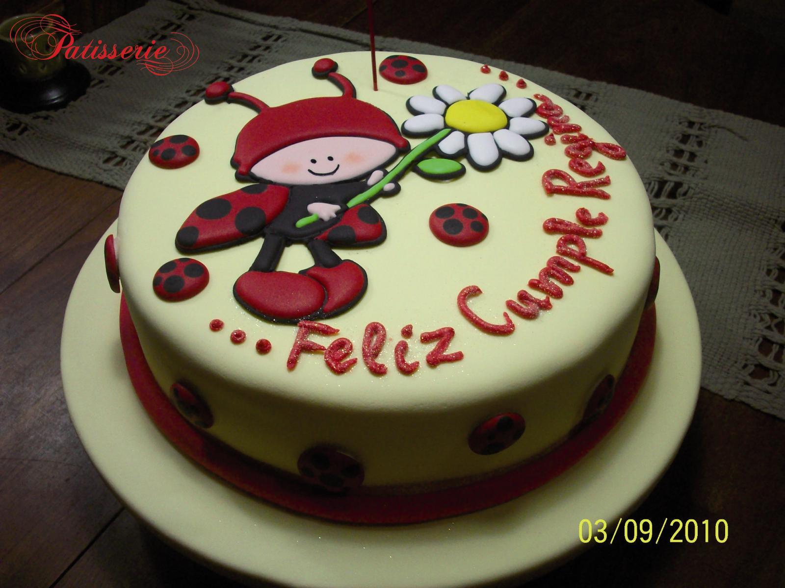 Pâtisserie Artisanale: Vaquita de San Antonio (Torta de Cumpleaños)