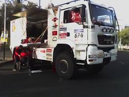 El camió de Jordi Munell al Dakar 2008