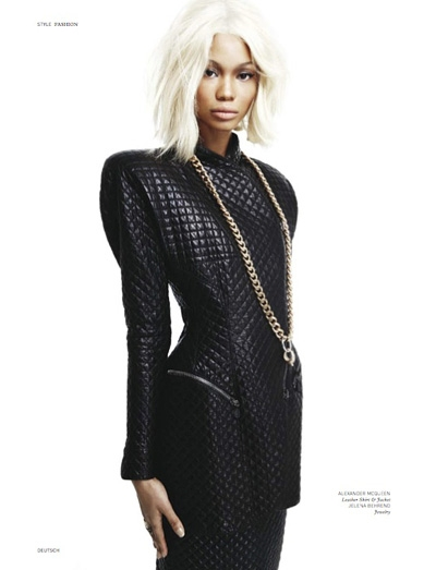 Fashion Magazine Torrent on Riotmode   Chanel Iman   Dutch Magazine