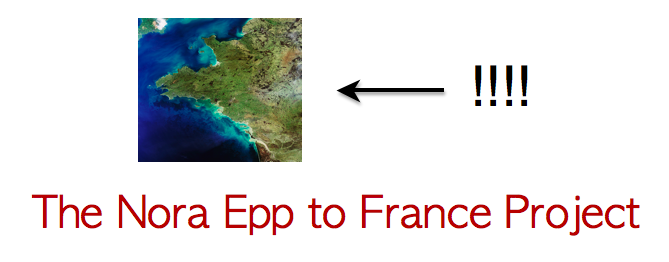 The Nora Epp to France Project