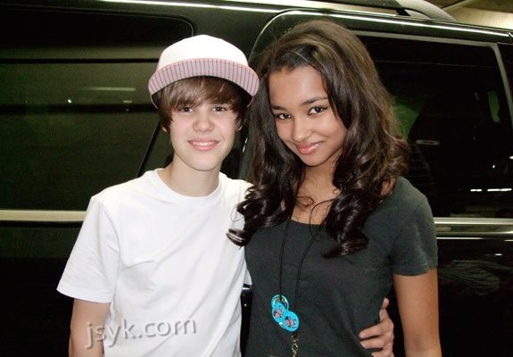 Justin Bieber & Jessica Jarrell