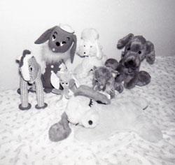 My stuffed dolls