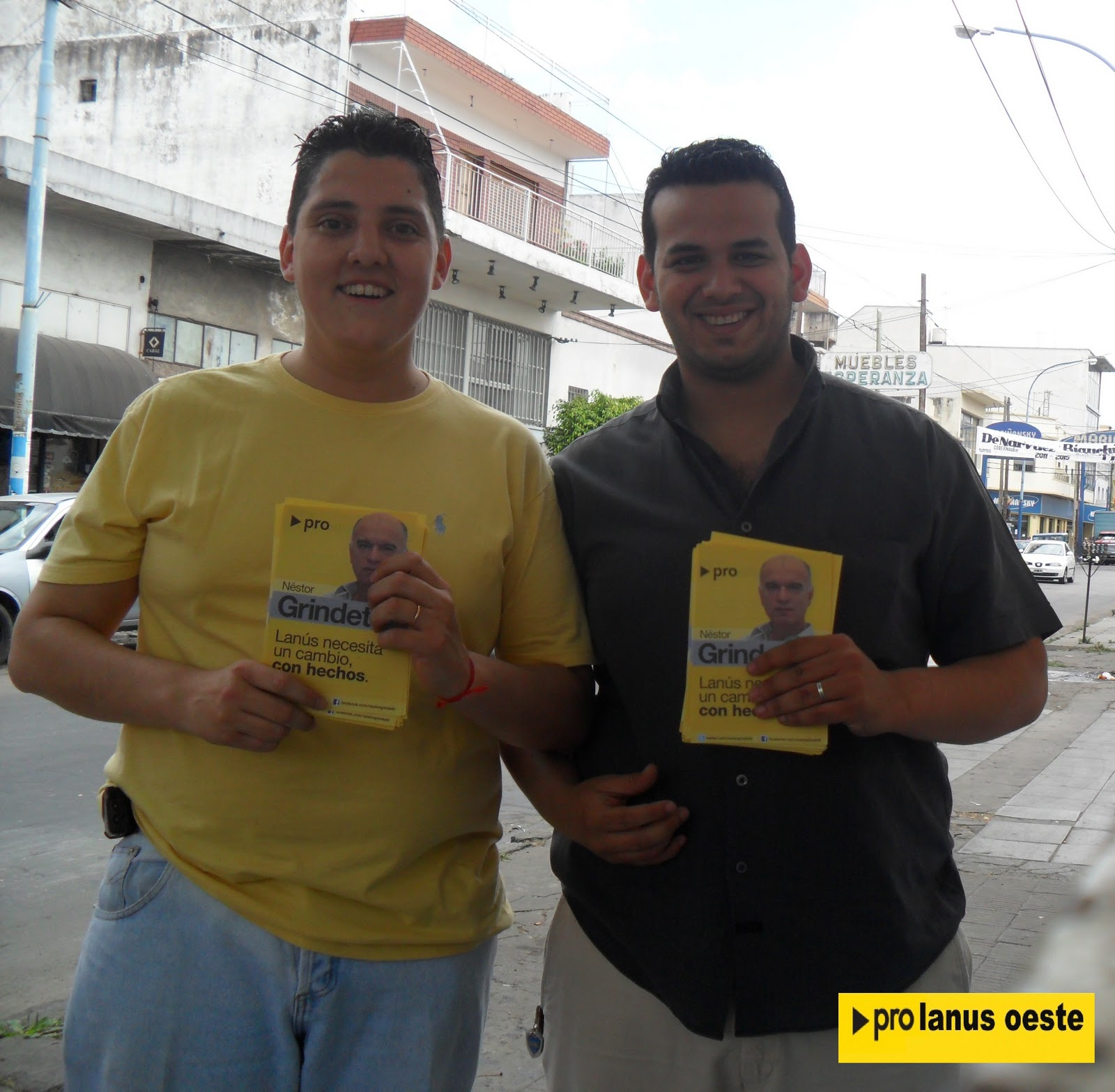 Sitio Oficial Gustavo Alvarez Y Martin Medina Recorrieron Centro  # Muebles Gustavo Martin