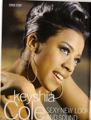 Keyshia Cole sexy look