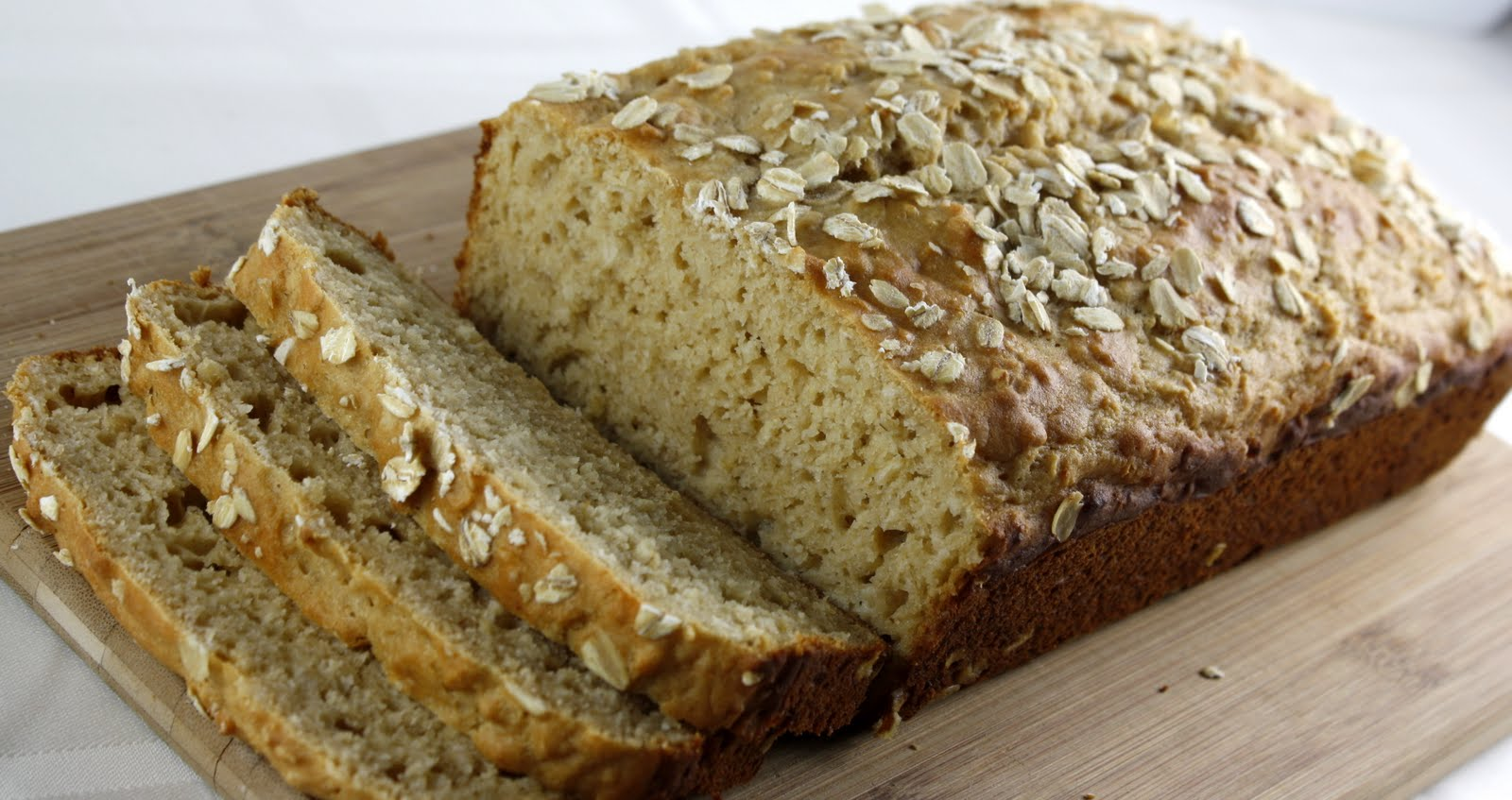 Honey Oat Quick Bread | What Megan's Making
