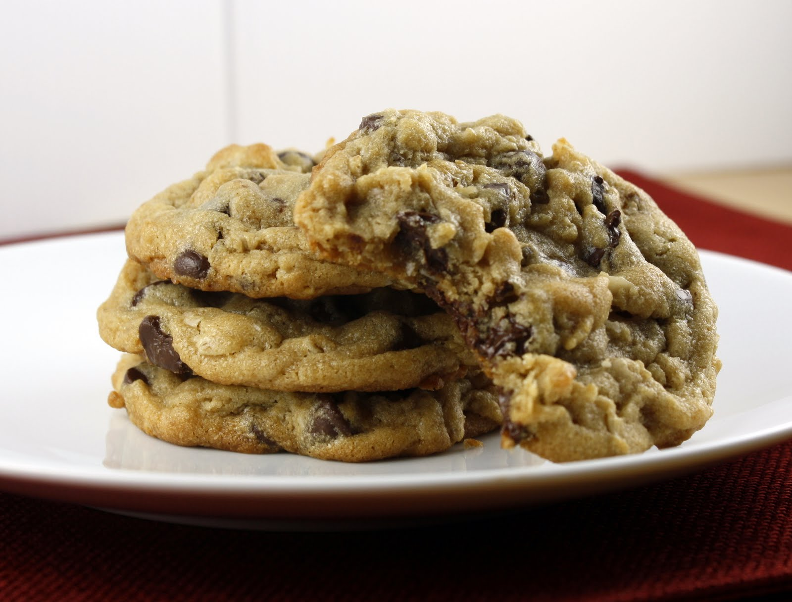 Peanut Butter Oatmeal Chocolate Chip Cookies | What Megan ...