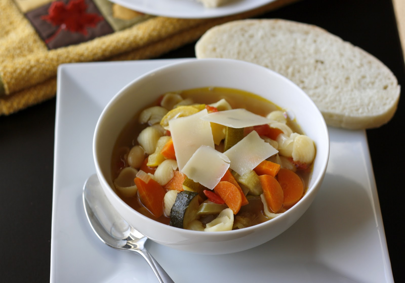 Roasted Vegetable Minestrone | What Megan's Making