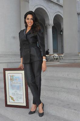 Mallika Sherawat - LA's Honorary Citizen