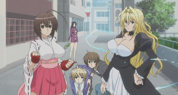 Sekirei Musubi Fighting