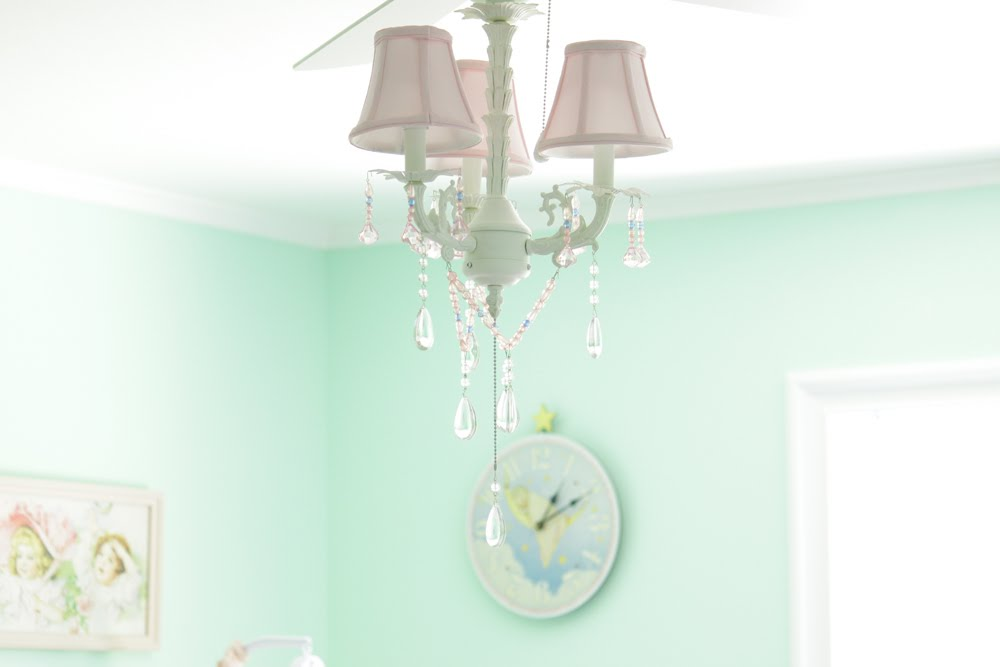 Girls chandelier ceiling fan chandelier online - Girl ceiling fans with chandelier ...