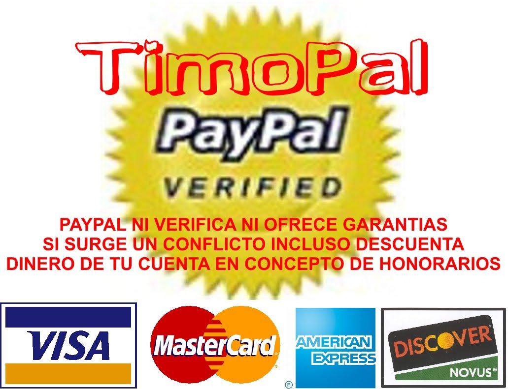 _Estampas Insolentes: NO TE FIES DE PAYPAL. No pagues ni cobres a ...