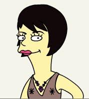 Hikki en el mundo Simpson xDDD