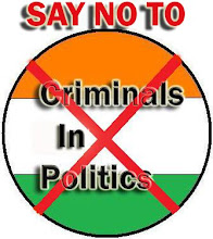 Say NO to criminals in politics!