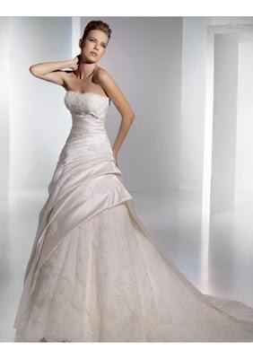 Strapless Wedding Dresses 2010