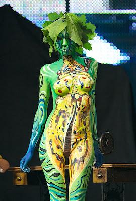 Body Painting Pics Women