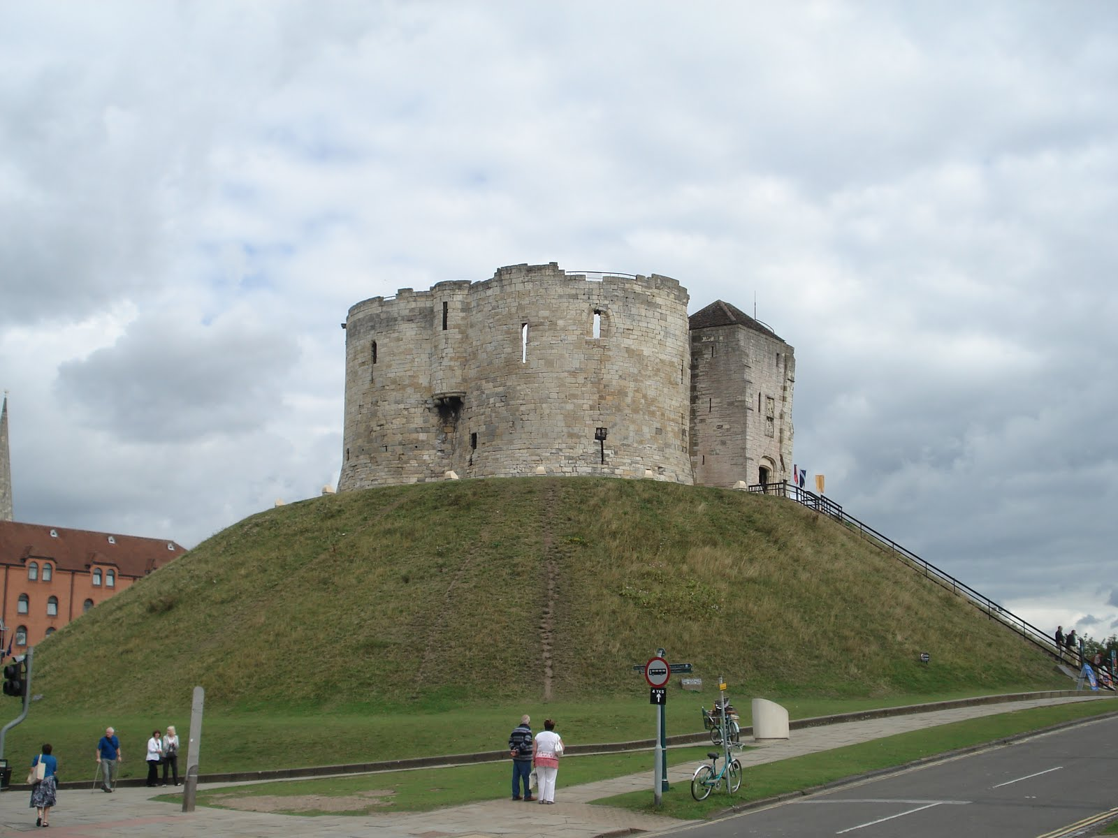 Pz c motte and bailey for The bailey