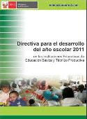 DIRECT. INICIO AÑO ESC.2011