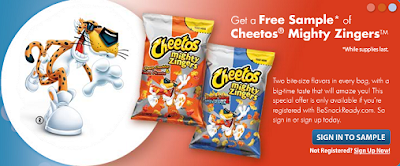 Cheetos Sample