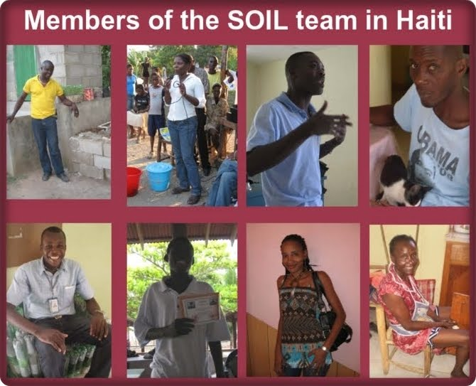 The Soil Team On-The-Ground in Haiti