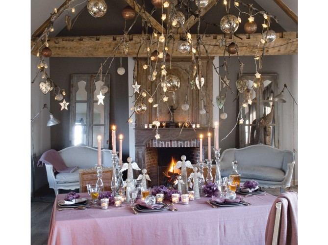 christmas tablescape inspiration desde my ventana blog de decoraci n. Black Bedroom Furniture Sets. Home Design Ideas