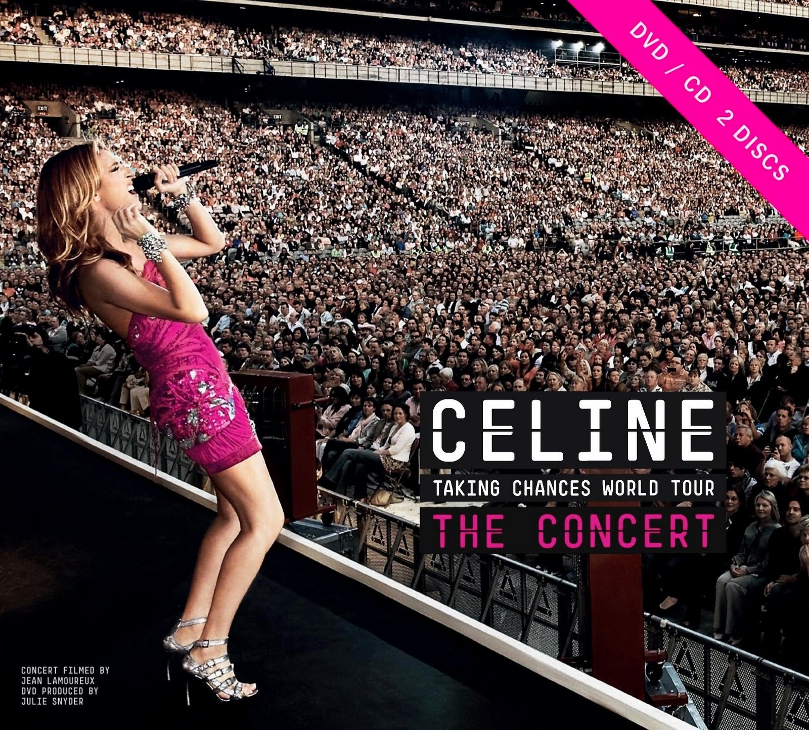 Celine Dion - Taking Chances World Tour
