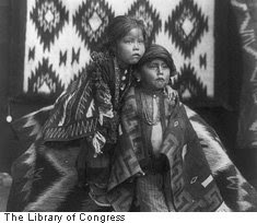 Navajo siblings