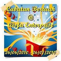 """""""CABUTAN BERTUAH @ QISFA ENTERPRISE"""""""