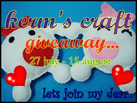 my 1st giveaway!!