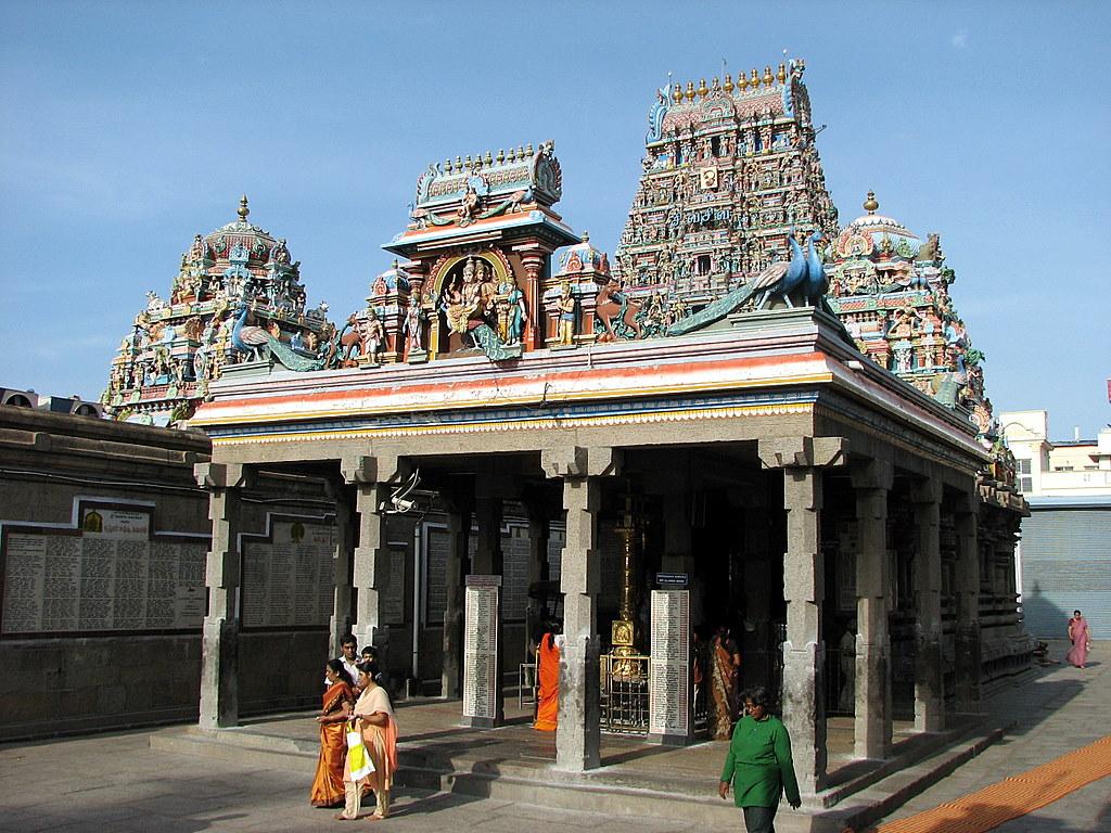 Ashtadasabhuja Durga Darshana - 13. Sri Karpagambal Temple - Mylapore