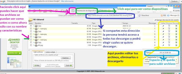 Como subir archivos a 4Shared para compartir tus creaciones en el foro [Fácil] 12