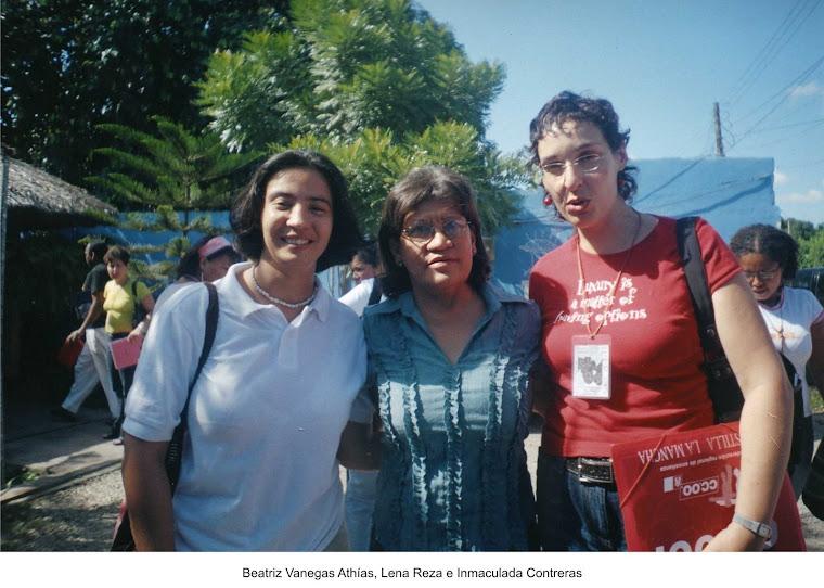 Beatriz Vanegas, Lena Reza, Inmaculada Contreras, Cereté 2006