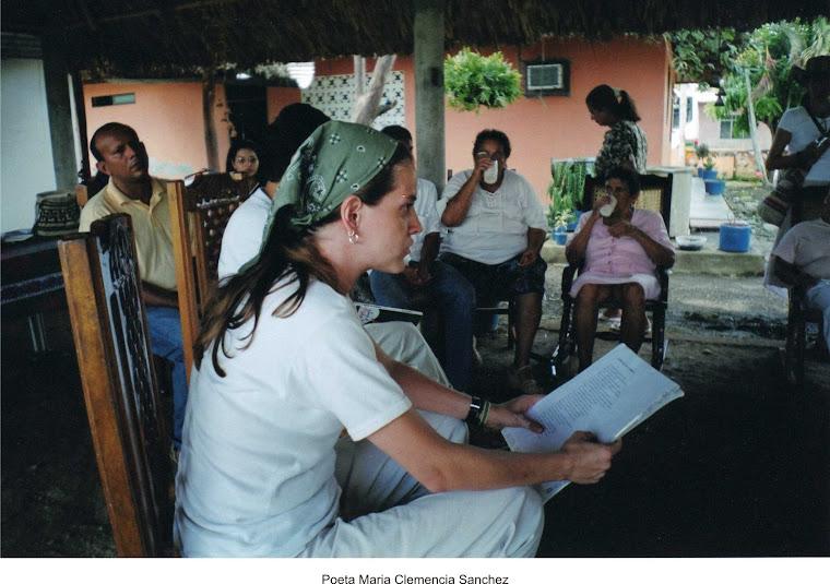 María Clemencia Sánchez: Casas de poesía, Cereté 2006