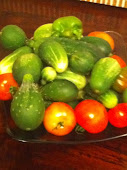 Spotlight on Fresh Veggies from My Son's Garden