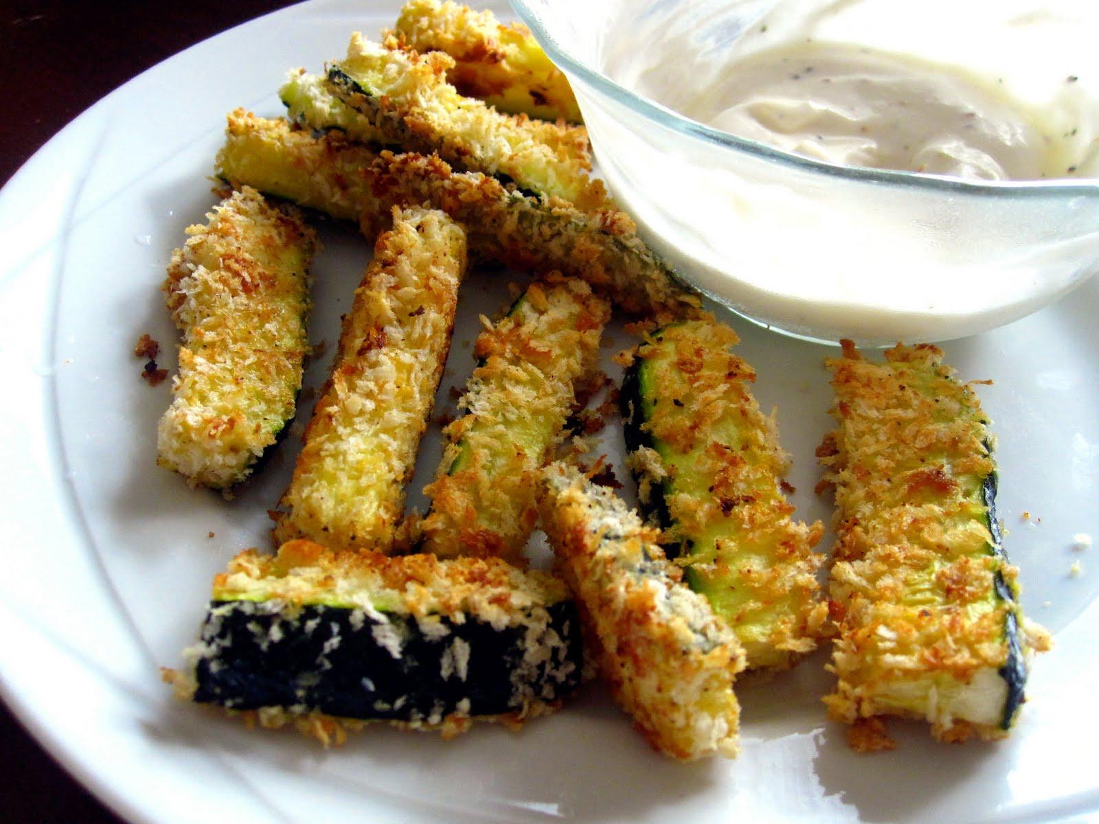 Baked Zucchini Sticks Recipe — Dishmaps