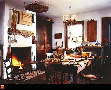 Home interior design style guide early american primitive for American house interior decoration